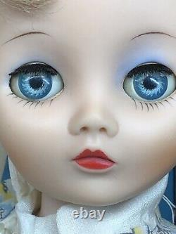 19 Vintage Uneeda Dollikin Doll Blonde 16 Joints Body All Original With Box #O