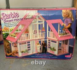 1985 BARBIE Dream House Furnished 3 Ft High Brand New Original Box All Contents