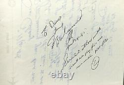 1985 Muhammad Ali Signed Fan Letter withInspirational Quote All in His Writing