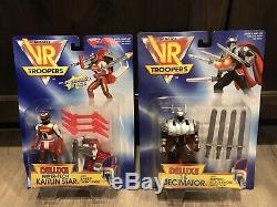 1994 Kenner VR Troopers 14 Piece Collection All Factory Sealed In Original Boxes