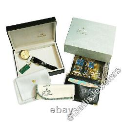 1995 Rolex Cellini 18k Gold 32mm Champagne Roman Dial 4112 ALL ORIGINAL with Boxes