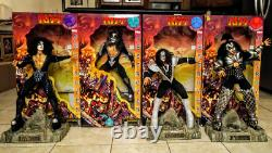 1998 Kiss Destroyer 24 Dolls in 1976 costumes withBoxes + numbered COA's Fun4All