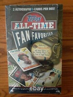 2003 Topps ALL-TIME FAN FAVORITES ARCHIVES Baseball Sealed Hobby Box 2 Autos