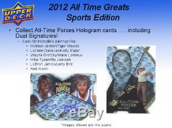 2012 UD Upper Deck All Time Greats Sports Edition Sealed Box FREE SHIP WORLDWIDE