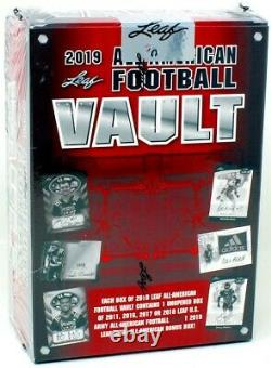 2019 Leaf All American Football Vault Box Blowout Cards