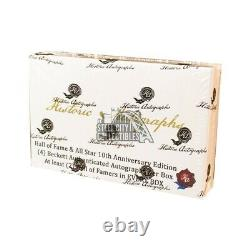 2020 Historic Autographs HOF & All Star 10th Anniversary Edition Box