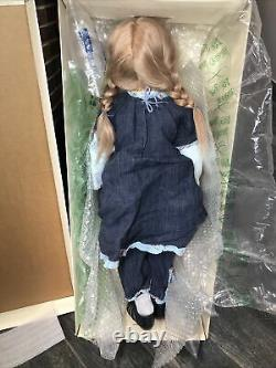 32 Annette Himstedt Doll Jani 216/377 All Original Blonde With A Box & COA