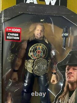 AEW Unrivaled 1 0f 1000 Chase Chris Jericho All Elite Wrestling Figure IN HAND