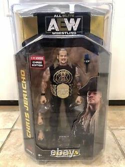 AEW Unrivaled 1 0f 1000 Chase Chris Jericho All Elite wwe Figure Rare with Case