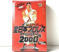 ALL Japan PRO Wrestling Card BOX BBM Limited OFFICIAL Crds 2000 Complete baba