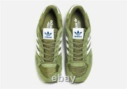 Adidas Originals ZX 750 Green and White MEN'S Leather Trainers All Sizes