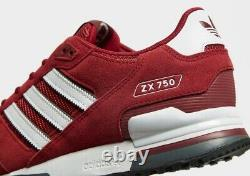 Adidas Originals ZX 750 Red MEN'S TRAINERS ALL SIZE Available