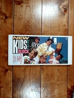 All 4 New Kids On The Block Factory Sealed Long Box Cd's