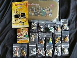 Authentic Lego 71001 Mr Gold Series 10 Minifigures Original + Extras All Mint