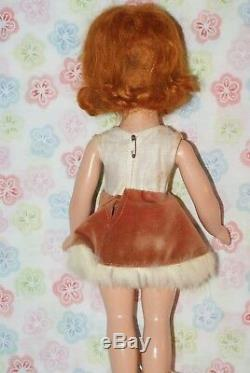 BEAUTIFUL! All Original Vintage 14 Nancy Lee Composition Skater Doll In Box