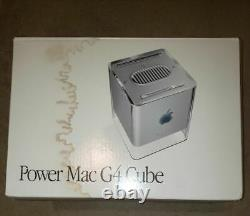 Brand New Apple PowerMac G4 Cube Open Box with All Original Accessories
