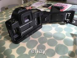 CANON EOS 3 35mm SLR CAMERA BODY BOXED WITH ALL ORIGINAL PACKAGING AND DOCUMENTS