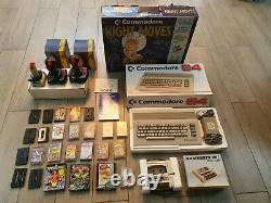 Commodore 64 computer Night Moves all original boxed + many games