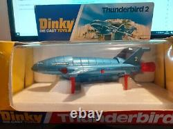 Dinky Toys No 106 Thunderbird 2 And 4 Boxed All Original