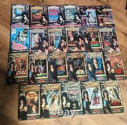 Elvira complete Thriller Video big box VHS collection! All original boxes