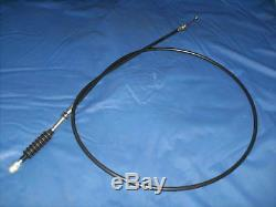 FORD ESCORT MK1incRS ALL MODELS NEW STANDARD THROTTLE CABLE / ORIGINAL PEDAL BOX