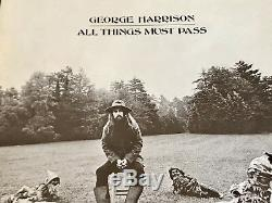 George Harrison Original First Press All Things Must Pass 3-lp Box Set Apple