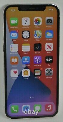 IPhone 12 Pro MGJX3LL/A Unlocked 512GB Silver In Original Box withAll Accessories