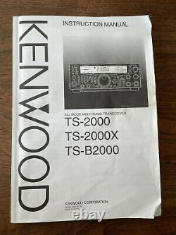 Kenwood TS-2000 Transceiver All mode multi band HF VHF UHF In original boxes