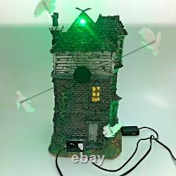 Lemax Spooky Town Ghostly Manor with Sights and Sounds All Working with Original Box