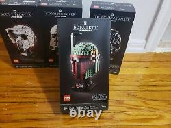 Lot of 4 LEGOs Star Wars 75274, 75276, 75277, 75305. All brand new, sealed