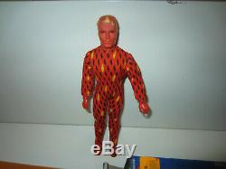 MEGO WGSH HUMAN TORCH 8 1975 Unused New in Box All Original FANTASTIC FOUR