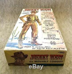 Marx Johnny West All Original Box And Sealed Accessories