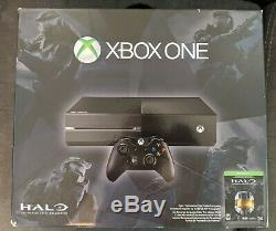 Microsoft Black Xbox One 500GB Complete with Controller All Cables Original Box