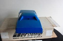 NEW JEROBEE CHALLENGER BODY, CHASSIS & DECAL SHEET ALL ORIGINAL RARE BLUE WithBOX