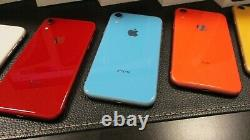 New Apple iphone XR A1984 64GB AT&T Unlocked GSM T-Mobile original box all Color