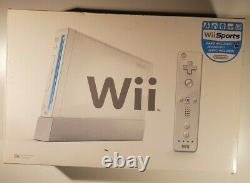 Nintendo Wii CIB Open Box Used TESTED WORKING all original parts
