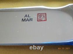 Older Al Mar #4102 limited #191 of 200 All Purpose Utility knife NOS in box