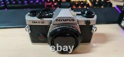 Olympus OM-4Ti with Data Back 4 Boxes and All Original Documentation
