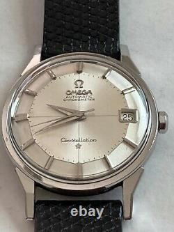 Omega Constellation. 168.005 Pie Pan with boxes all original papers
