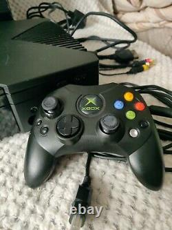 Original Xbox Console Boxed With Controller 7 Games And All Leads Working