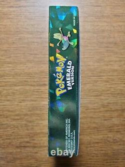 Pokemon Emerald includes authentic game cartridge, box and all original inserts