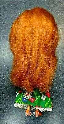 RARE Kenner 1972 Blythe 7 Line Red Head doll-ALl original withBox & STand