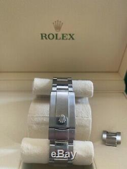 ROLEX MILGAUSS 116400 BLACK WithORANGE PRE-OWNED WITH BOX ALL ORIGINAL