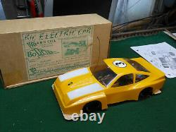 Rare Vintage MONZA BOLINK RC Car All Original In Box with Manuals ROAD HUGGERS