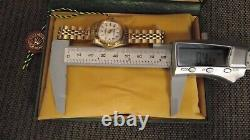 Rolex Oyster Perpetual 14k SOLID Gold All Original Jubilee 23mm