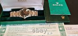 Rolex Oyster Perpetual Datejust 16013 Gold/steel All Original Documents & Box +