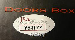 SIGNED THE DOORS 4 CD BOX SET AUTOGRAPHED BY ALL 3 WithPICS CERTIFEID JSA # Y54177