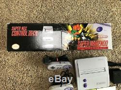 SNES Mini System In Original Box With 2 Controllers & mario All Stars