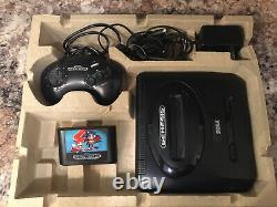Sega CD Model 2 And Genesis Model 2 Systems Console In Original Box All Tested