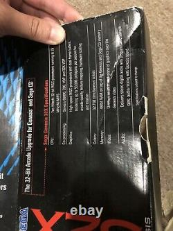 Sega Genesis 32X Complete in Original Box with all Instructions Tested Works